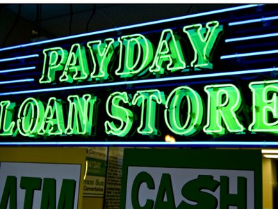 payday lenders and pawn shops